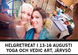 Helgretreat i Järvsö 13-16 augusti